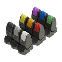 JC1200 - Beröringsfri paddeljoystick med färgkodade flikar