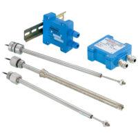 ICT100 - Beröringsfri linjärgivare för inbyggnad i cylinder
